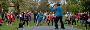 World Tai Chi Day, Southampton